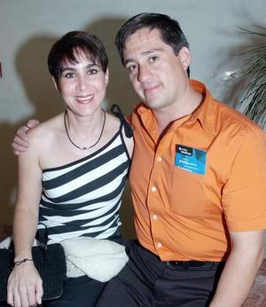 Estrella Franco y Miguel Villarreal.