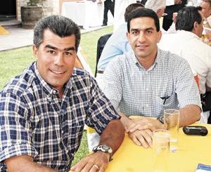 José Luis Meza y Salomón Issa Tafich.