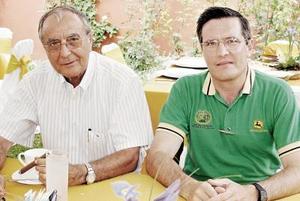 Miguel Gil García y Luis Sánchez Russek.