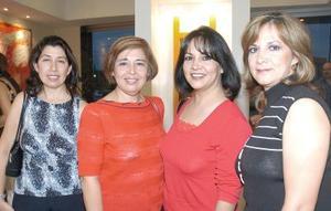 Rosy Rodríguez, Eréndira Barragán, Rocío y Reyna Mota.