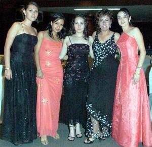 <b>05 de septiembre 2005</b><p> Haideé Vela López, Nancy Flores Valadez, Gabu Valdés Lugo, Aislin Gómez Luna y Maru Fernández.