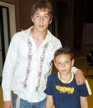 Diego Wallander Pérez y Aram Alarcón.