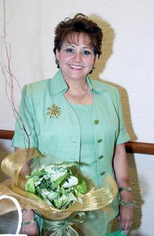 <b>05 de septiembre 2005</b><p> Yolanda de la Rosa de Gutiérrez.