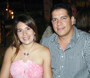 Alberto Ollivier y Mónica de Ollivier.