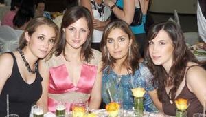 Lisset Canedo de Bartheneuf, María Emilia Jiménez de Madero, Ana Claudia Sada de Rocha y Lucía Sada.