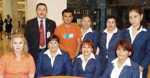 Yolanda González, Lety Núñez, Rosario Cortez, Mely Jáuregui, Paty Mesa, Javier Ramírez, Alfredo Nava Mary Inchaurreguin y Jaqueline Batres.