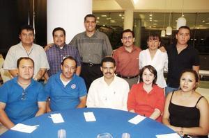 Rodrigo García, Marco Alvarado, Alfonso Juárez, Pedro Mijares, Héctor Delgado, Jorge Ramos, Cristina Quintana, Beatriz Vega, Mario López, Rebeca Rocha y  Armando Ovalle.