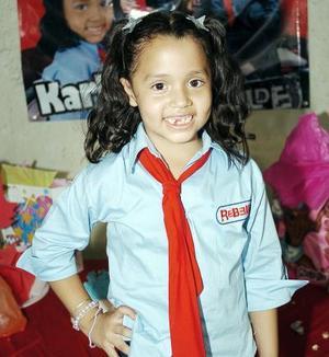 <b>09 de septiembre 2005</b><p> Karla Alejandra Martínez.