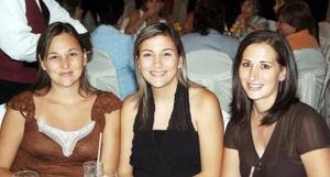 Ana Lorena, Ana Carla y Liliana.