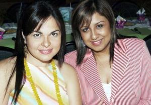 Susana Juárez e Irene Navarro de Serna.
