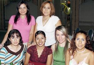 <b>09 de septiembre 2005</b><p> Susy, Mercy, Gaby, Ale, Marcela, y Marlene.