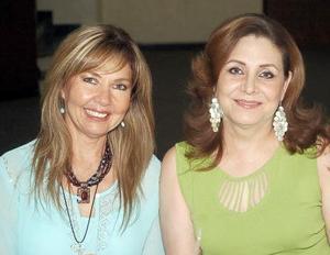 Graciela de Román y Gaby C. de Alonso.