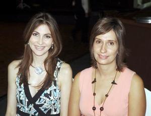 Sonia de Arriaga y Mily de Castillón.