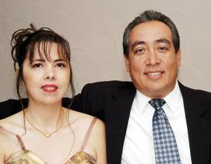 Ana Rosa Pérez e Iván Payán.