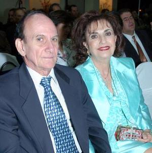 <b>10 de septiembre 2005</b><p> José Kawas y Cristina Z. de Kawas.