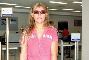 Alejandra Hernández viajó a Cancún, Quintana Roo