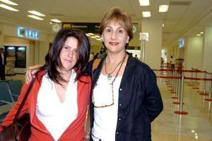 María Luisa Jáuregui llegó del DF y fue recibida por Bertha Berlanga