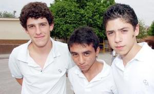 Pablo Gómez, Van Vehyna y José Romo
