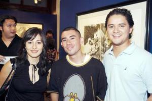 Ana Villar, Israel Herrera y Román Eguía.
