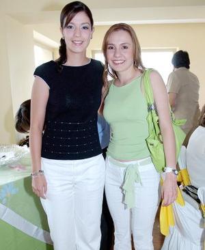Angélica López y Zoyla Valdés