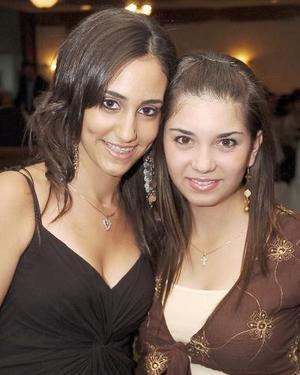 Bárbara Marcos y Natalia Álvarez.