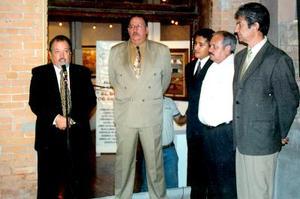 José Antonio García, Luis Fernando de la Garza, Guillermo García y Luis Montfort.