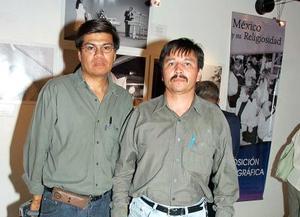 Luis Castruita y Enrique Saldaña.