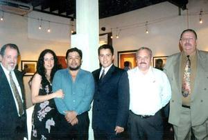 José Antonio García, Rafael Aguirre, Guillermo García, Ernesto Cadena,Luis de la Garza y otra compañera.