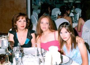 María de la Luz Torres, Ana Lidia de Ávila y Ana Lidia.