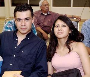 Sebastián López y Jéssica Cortés.