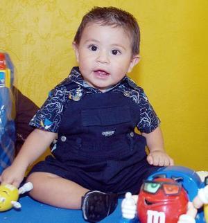 Josué Gamaliel Reyes Castellanos festejó un año de vida, con una agradable convivio