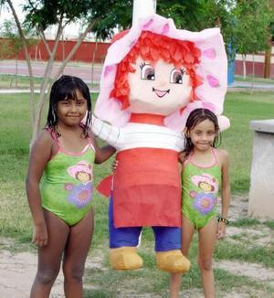 Luisa Fernanda y Dyane Fermán Cabrales celebraron sus respectivos cumpleaños.