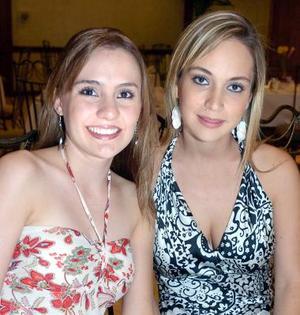 Zoyla Valdés y Claudia Rueda.