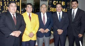 En días pasados se llevó a cabo el cambio de mesa directiva del Club Sertoma de Torreón, el cual preside ahora José Pacheco  a quien  lo acompañaron Julio Fisher, Luis Barrón, Antonio Juárez y Jesús Cortés.