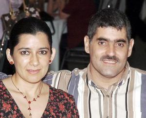 <b>13 de septiembre 2005</b><p> Leonor Esthela Quiñónez de Ordaz y Miguel Ángel Ordaz Sabag.