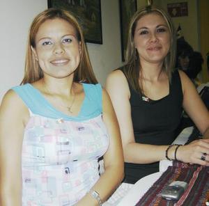 Martha Arreola y Ana Laura González.