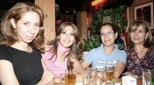 María Luisa de la Rosa, Cristy Gurrola, Mayra Campeán e Iliana Carrillo.
