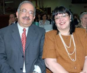 Alejandro Gidi y Marilú Chávez de Gidi.