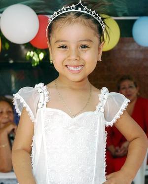 Dulce María Maldonado celebró sus tres años de vida.