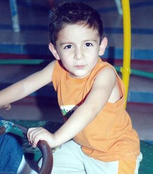 <b>15 de septiembre 2005</b><p> Carlos Alberto García González celebra su cuarto cumpleaños.