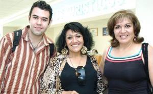 Guadalupe Mireles, Roberta Díaz y Gerardo Rodríguez llegaron del DF.