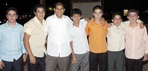 Emmanuel Batarse, Eduardo Garza, Jorge Milán, Eduardo Calzada, Emilio Dabdoub, Jesús Babún y Roberto Fernández.