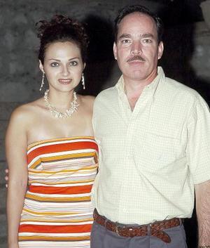 Gretel  y Roberto Quezada.