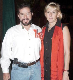 Javier de la Peña y Alejandra de la Peña.