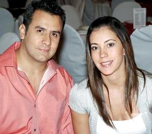 Jorge Sánchez y Bárbara Rubio..
