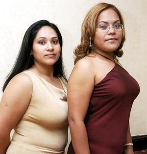 Julia Sánchez Ramos y Luisa  González Ramírez, capatadas recientemente.
