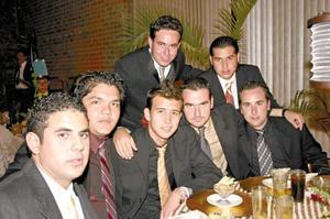 Andrés Vera, Adam Rivera, David Muñiz, Rodolfo Zertuche, Mario Martínez, Gerardo Palacios y Fabián Ogazón.