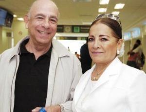 Francisco y María Eugenia  Sánchez llegaron procedentes del DF.