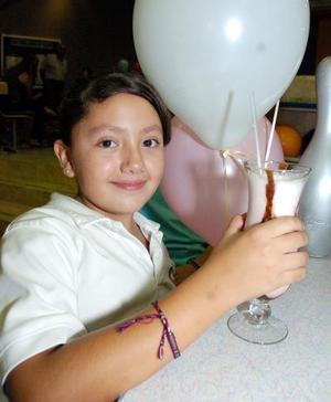 Natalia Aguilar Blázquez celebró su cumpleaños con una divertida fiesta.
