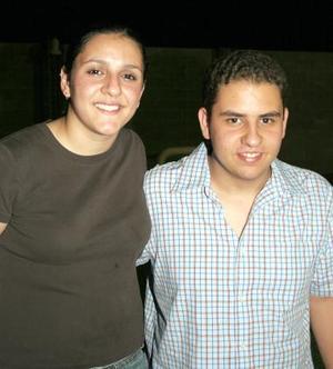 Ana Cristina y Alejandro.